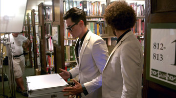 Behind the Scenes at Tom Sandoval's Music Video Shoot