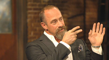 Why is Urinating On-Screen Christopher Meloni's Proudest Moment?