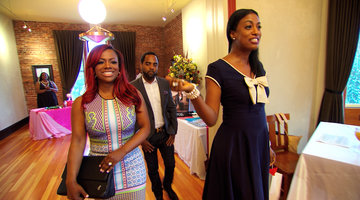 Kandi Burruss Visits the Millionairess Club