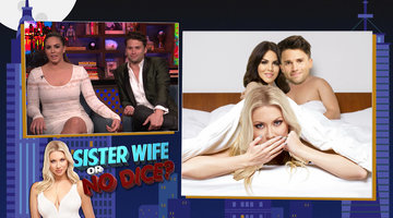 Katie Maloney-Schwartz and Tom Schwartz Play Sister Wife or No Dice?