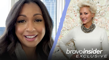 Eboni K. Williams Reveals the Message She Received From Dorinda Medley After Becoming the Newest Real Housewife of New York City