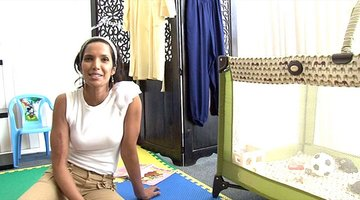 Padma Lakshmi Shares a Dressing Room