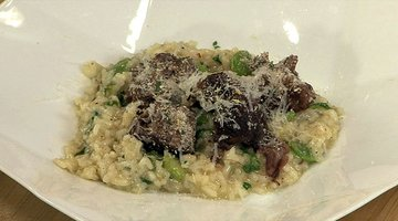 Antonia Lofaso's Braised Veal with Risotto