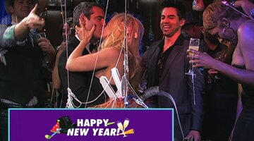 Andy's New Year's Kiss