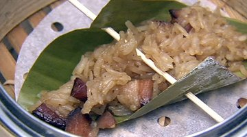 Dale Talde's Sweet Rice with Chinese Bacon