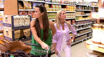 Kim and Kyle in the Grocery Store