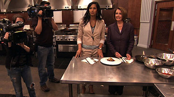 Nancy Pelosi Visits Top Chef