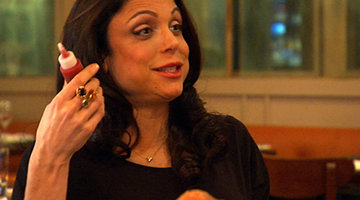 Wedding Food Makes Bethenny Happy