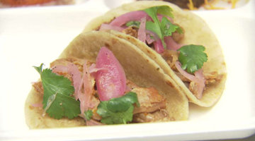 Kelly Liken's Pork Carnitas Tacos