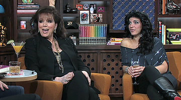 Jackie Collins and Teresa Guidice, pt.2