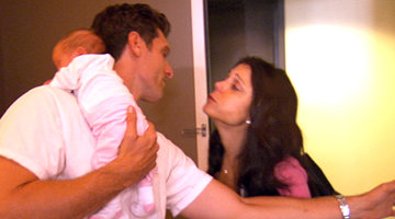 Bethenny's First Night Away