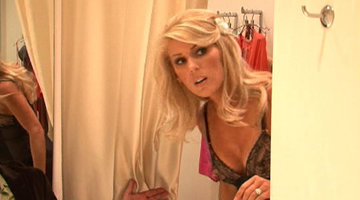 Gretchen and Tamra in Lingerie