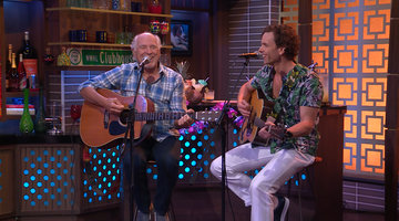 Jimmy Buffett Performs 'Margaritaville' with Paul Nolan