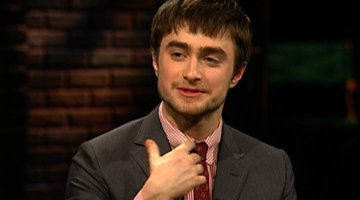 Daniel Radcliffe - Bike Saddle