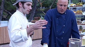 Colicchio Checks in with Marcel