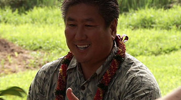 Guest Judge Alan Wong's Luau - Part 1