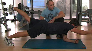 Body By Bravo: Peeler's Ab Workout
