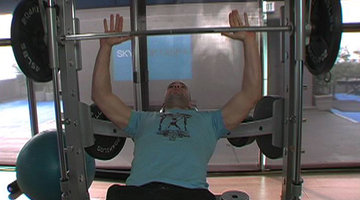Start Chest With Smith Machine