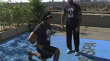 Bravo For Fitness: Andre's Lunges