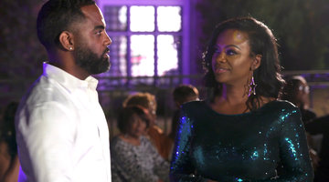 "Kandi Burruss Tells Todd Tucker: ""You Aggravate the S--- Out of Me"""