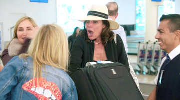 Why Is Luann de Lesseps' Suitcase Vibrating?