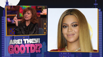 Susan Sarandon Plays 'Are They Gootd?'