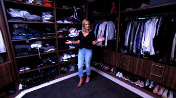 Teddi Mellencamp Arroyave Gives Us a Tour of Her Closet