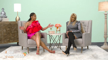 Does Kenya Moore Think She's Better Than Marlo Hampton?