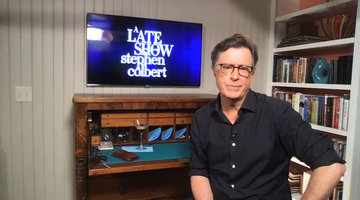Stephen Colbert's Personal Interview with Anderson Cooper