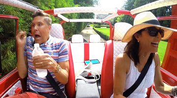 Bethenny Frankel's Driving Has Fredrik Eklund Panicked