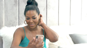Kenya Moore Has a Tense Phone Call with Marc Daly
