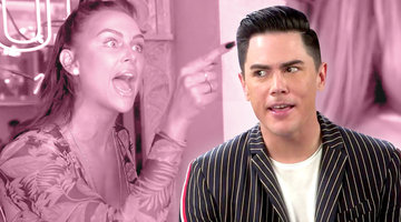 Tom Sandoval On Finally Being Partners with Lisa Vanderpump at Tom Tom