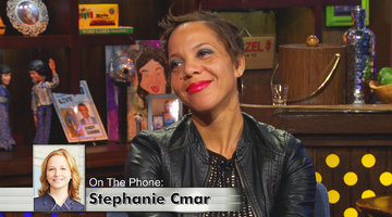 Stephanie Cmar Calls in LIVE!