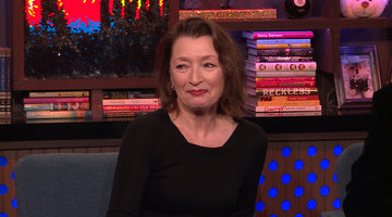 Lesley Manville on Meeting Prince William