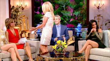 Kim Richards Has a Gift for Lisa Rinna
