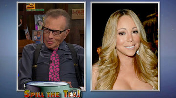 Larry King Spills the Tea