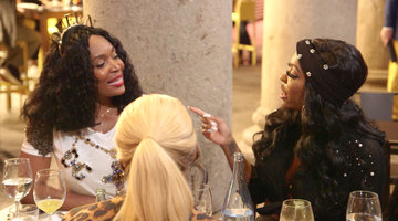 Marlo Hampton Gets Heated with Porsha Williams