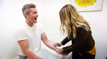 Ryan Serhant Gets Waxed!