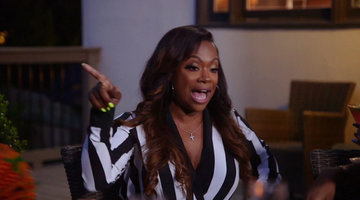 "Kandi Burruss Tells Porsha Williams ""You Don't Know How to Control Yourself"""