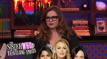 Amber Tamblyn on her 'Sisterhood Of The Traveling Pants' Castmates