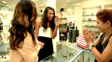 Karen Huger Takes Katie Rost Engagement Ring Shopping