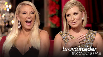 The RHONY 'Wives Sit Down for the Very First Time on the Season 12 Reunion Set