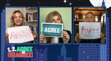 Carey Mulligan, Connie Britton & Jennifer Coolidge Play 1, 2 Agree or Disagree