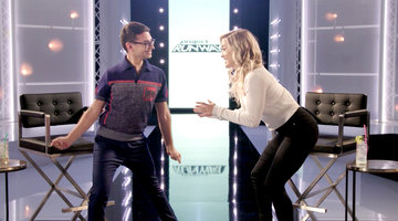 Watch Christian Siriano Learn How to Wrestle!