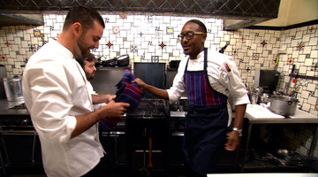 Gregory Is Leaning on His Sous Chefs