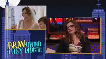 Amber Tamblyn Plays 'Brav-Oh No They Didn't!'