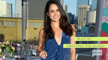 Meghan Markle Has to Follow All of These Intimidating New Etiquette Rules