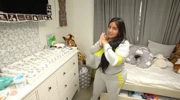 "Mercedes ""MJ"" Javid's Exclusive Nursery Tour Includes a Peepee Teepee Tutorial"