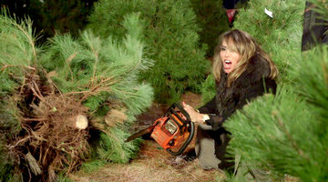 You Have to Watch Kelly Dodd Use a Chainsaw