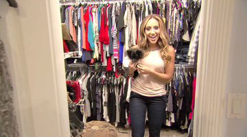 Tour Melissa Gorga's (Temporary) Closet